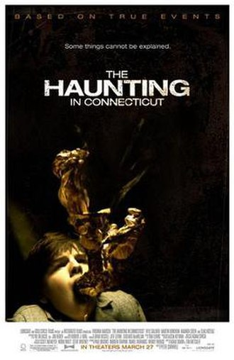 The Haunting in Connecticut - Promotional film poster