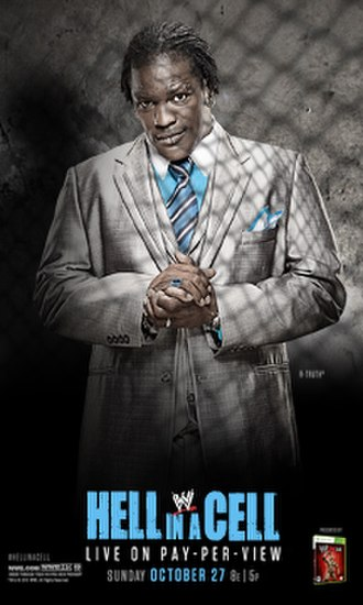 Hell in a Cell (2013) - Promotional poster featuring R-Truth