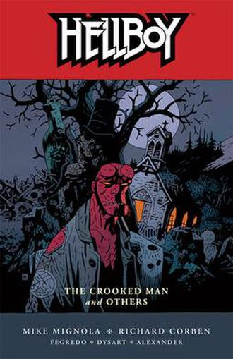 Hellboy: The Crooked Man and Others - Trade Paperback Cover