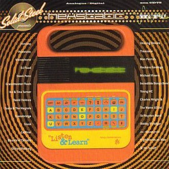 Speak & Spell (toy) - Image: Hexstatic Listen&Learn albumcover