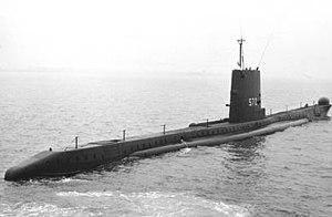 HMS Aeneas (P427) - Image: Hms aeneas submarine