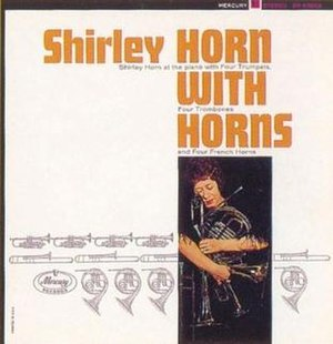 Shirley Horn with Horns - Image: Hornwithhorns
