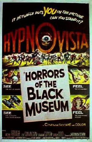 Horrors of the Black Museum - Theatrical release poster