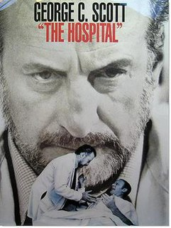 <i>The Hospital</i> 1971 satirical film directed by Arthur Hiller