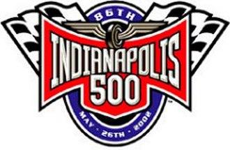2002 Indianapolis 500 - Image: Indianapolis 5002002