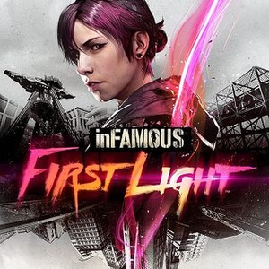 Infamous First Light - Image: Infamous First Light cover art