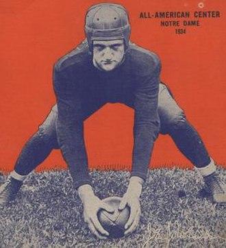 Jack Robinson (American football) - 1935 Wheaties box with Robinson photograph