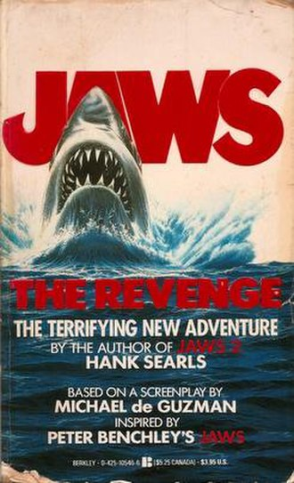 Jaws: The Revenge - Softcover edition