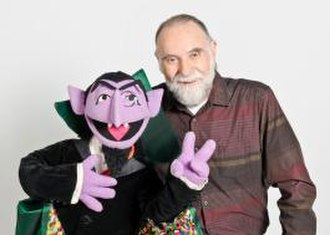 Jerry Nelson - Nelson in a Sesame Street publicity photograph from June 2012, two months before his death. Here he is pictured with the Count.