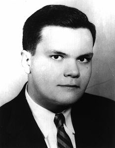 Picture of an author: John Kennedy Toole