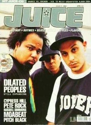 Juice (magazine) - Dilated Peoples