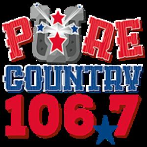 KSIG-FM - Image: KSIG Pure Country 106.7 logo