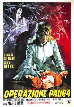 Kill, Baby, Kill - Italian film poster