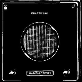 Retrofuturism - Original 1975 cover to Kraftwerk's album Radio-Activity (English version). Note that it is a stylized photograph of a vintage radio, in combination with the band's pioneering futuristic sound