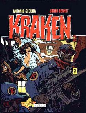 Kraken (comics) - Cover of the Le roi des égouts album