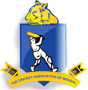 Cricket Association of Bengal - Image: Logo of the Cricket Association of Bengal