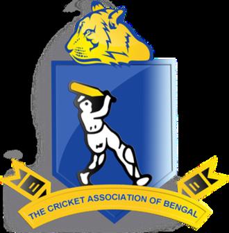 Bengal cricket team - Cricket Association of Bengal Logo