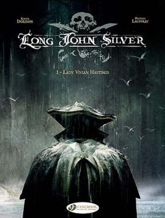 Long John Silver (comics) - The first book in the series, Lady Vivian Hastings.