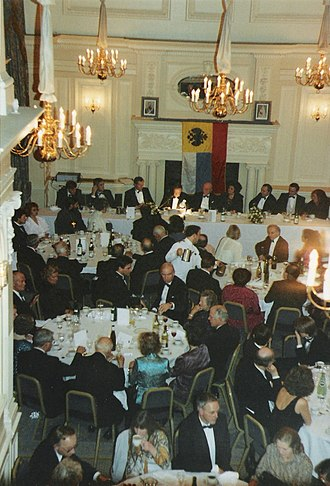 Conservative Monday Club - The Foreign Affairs Committee were responsible for the club's Russia Dinner on 11 January 1990, with Vladimir Cyrillovich, Grand Duke of Russia, pretender to the Imperial throne, being the guest-of-honour.