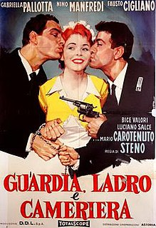 <i>Maid, Thief and Guard</i> 1958 film by Stefano Vanzina