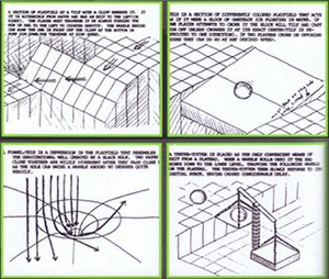 Marble Madness - Concepts for Marble Madness were outlined in an extensive design document. The document contains a number of ideas, like the tilting ramp and teeter-totter scale above, that were not used in the final product.