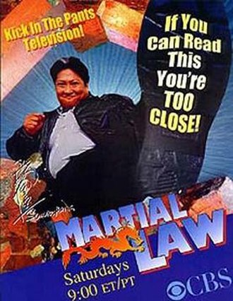 Martial Law (TV series) - CBS Series poster
