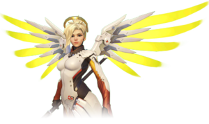Mercy (Overwatch) - Promotional Artwork