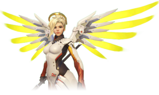 Mercy (<i>Overwatch</i>) Fictional character in the 2016 video game Overwatch