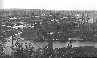 Bellevue, Washington - Bellevue seen from Meydenbauer Bay in 1902
