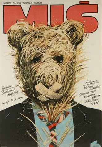 Teddy Bear (1980 film) - Poster for Miś