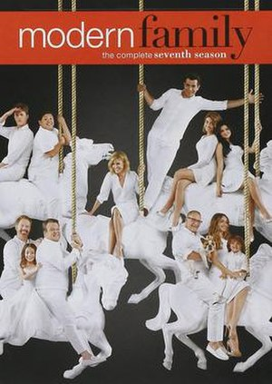 Modern Family (season 7) - Image: Modern Family season 7 dvd