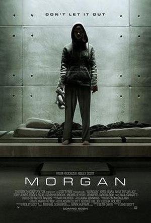 Morgan (2016 film) - Theatrical release poster