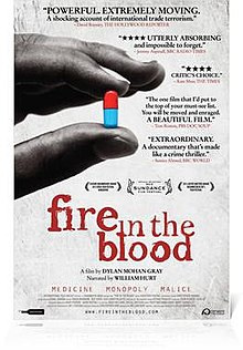 "Movie Poster, ""Fire in the Blood"".jpg"