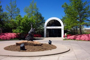 Gilcrease Museum - Gilcrease Museum main entrance