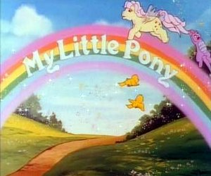 My Little Pony (TV series) - Image: My Little Pony (TV series) title card