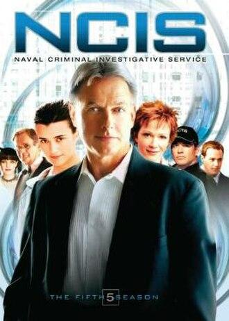 NCIS (season 5) - Season 5 U.S. DVD cover