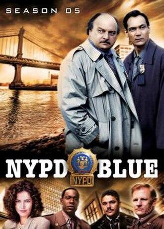 NYPD Blue (season 5) - Season 5 U.S. DVD Cover