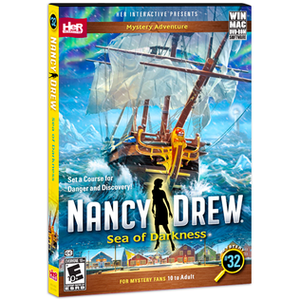 Nancy Drew: Sea of Darkness - Image: Nancy Drew Sea of Darkness Cover Art