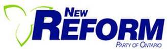 New Reform Party of Ontario - Image: New Reform Party of Ontario logo