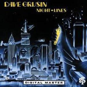 Night Lines (Dave Grusin album) - Image: Night Lines 1983 album