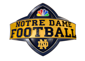 Notre Dame Football on NBC - Image: Notre Dame Football logo 2017