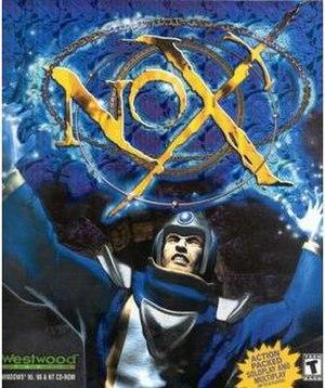 Nox (video game) - Image: Nox (video game box art)