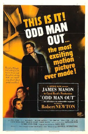 Odd Man Out - Theatrical release poster