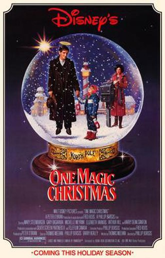 One Magic Christmas - Theatrical release poster