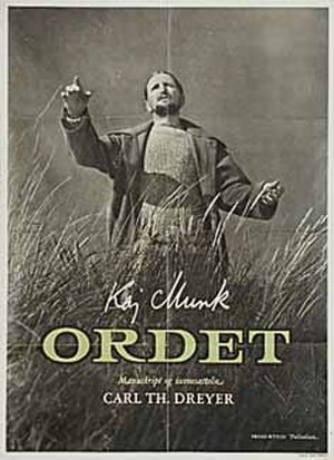 8th Bodil Awards - Poster for Ordet