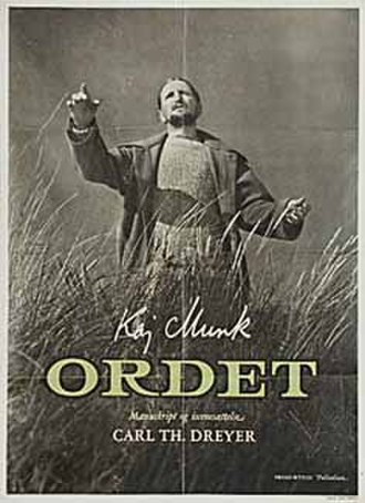 Ordet - theatrical release poster