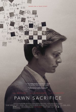 Pawn Sacrifice - Theatrical release poster