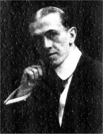 Percy Greenbank - Greenbank in 1905