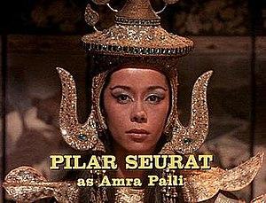 Pilar Seurat - Seurat in an episode of The Man from U.N.C.L.E.
