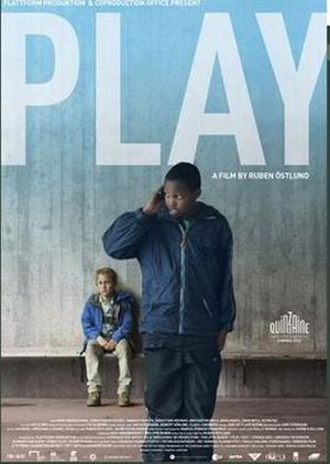Play (2011 film) - Theatrical release poster